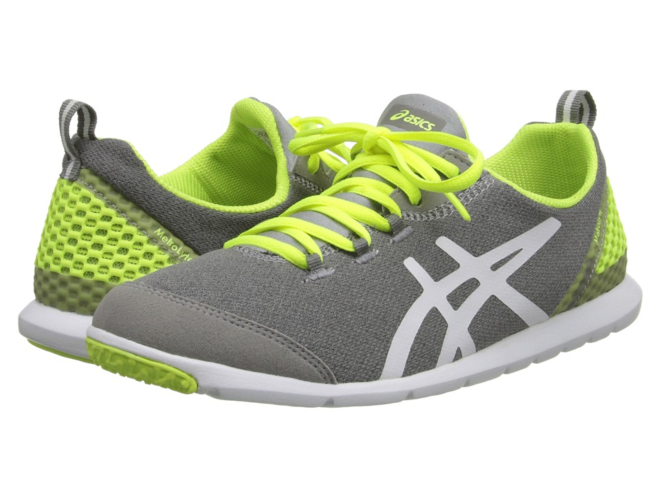 ASICS - Metrolyte (Heather Grey/Flash Yellow/White) Women's Shoes