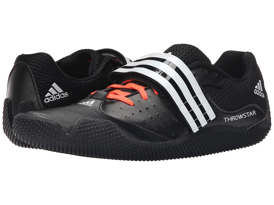 adidas - Throwstar Allround (Black/White/Solar Red) Track Shoes