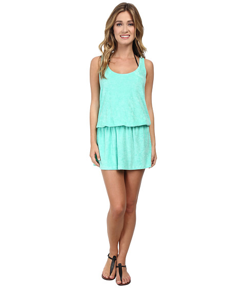 Splendid - Sunblock Solids Dress Cover-Up (Spearmint) Women's Dress