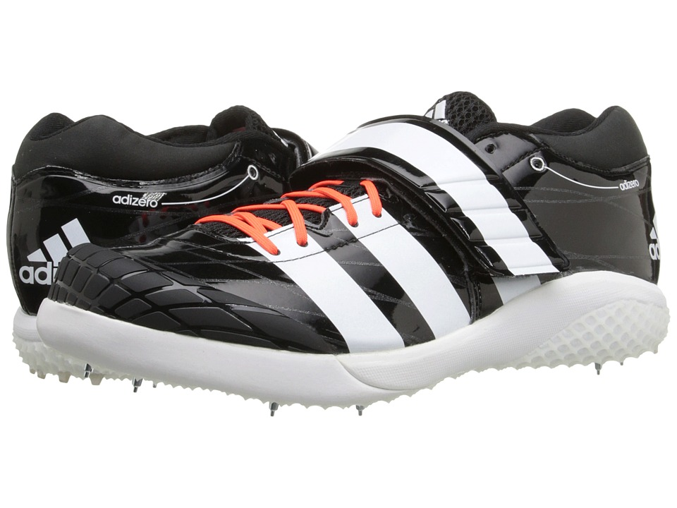 adidas - Adizero Javelin 2 (Black/White/Solar Red) Running Shoes