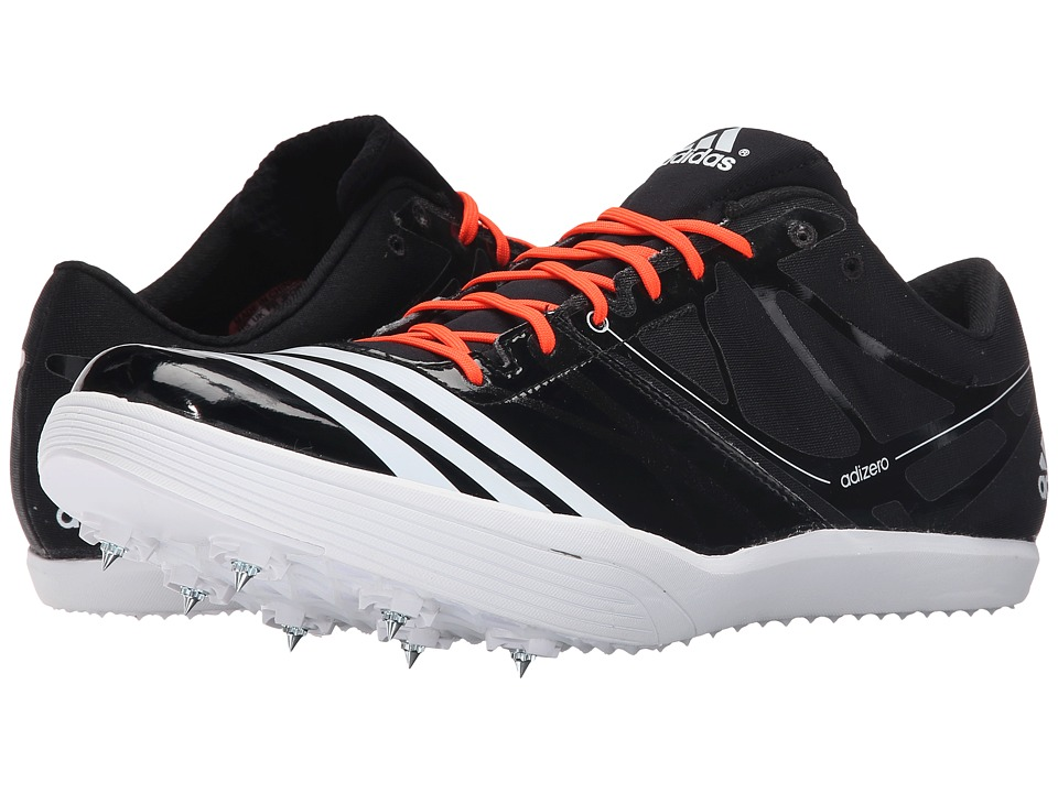 adidas - Adizero LJ / PV 2 (Black/White/Solar Red) Running Shoes