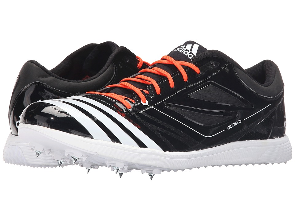 adidas - Adizero TJ 2 (Black/White/Solar Red) Running Shoes