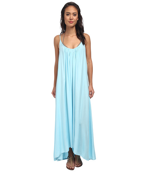 Vince Camuto - The Whimsical Garden Cover Up Maxi Dress (Blue Sky) Women