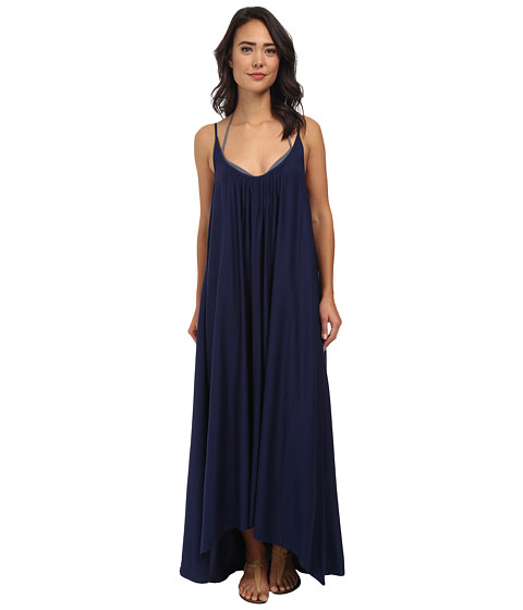 Vince Camuto - The Whimsical Garden Cover Up Maxi Dress (Midnight) Women