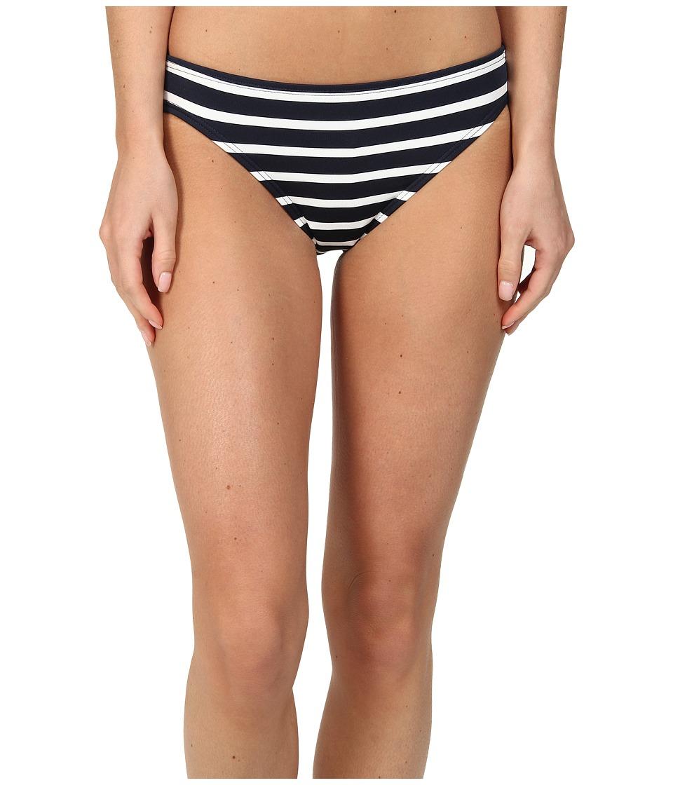 MICHAEL Michael Kors - Sophia Stripe Classic Bottom (New Navy/White) Women's Swimwear