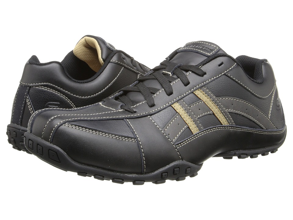 SKECHERS - Citywalk Molton (Black) Men's Shoes
