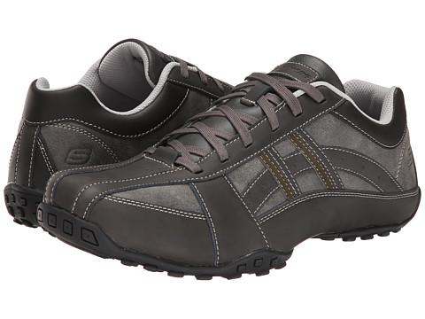SKECHERS - Citywalk Molton (Charcoal) Men's Shoes