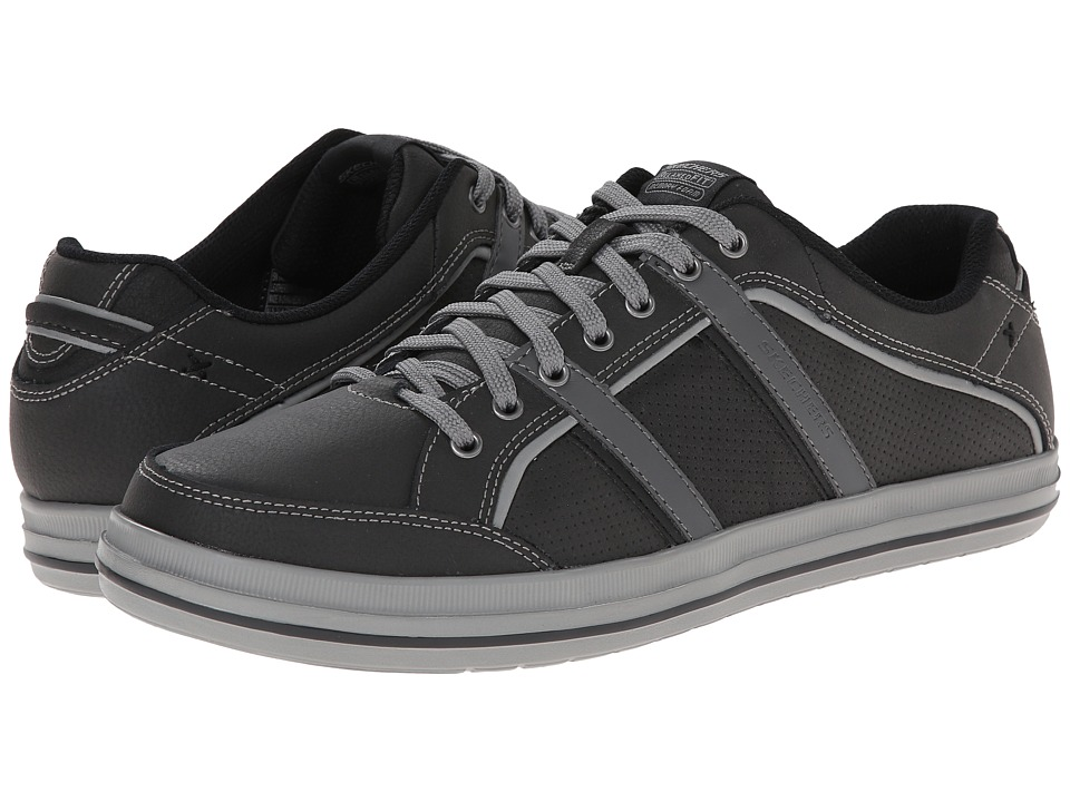 SKECHERS - Define (Charcoal) Men's Shoes