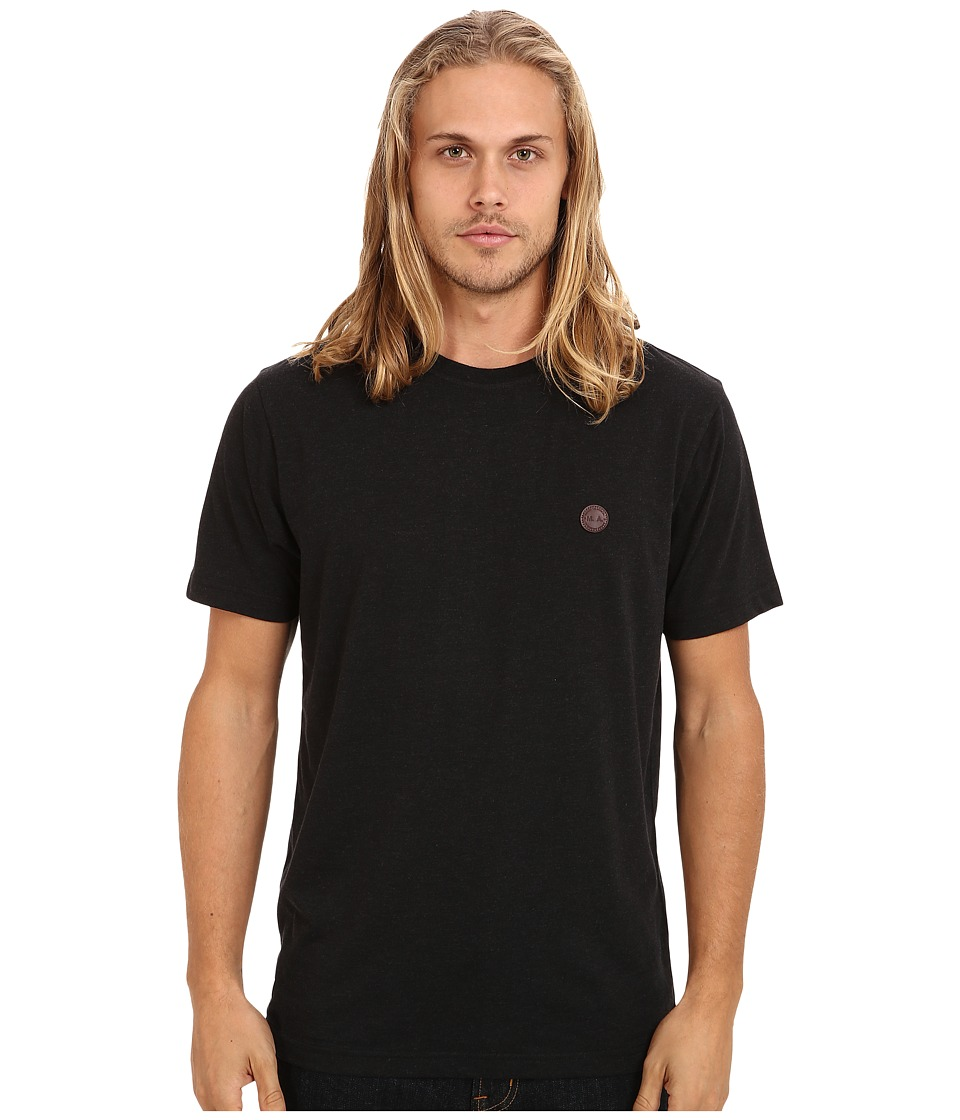 Marshall Artist - Short Sleeved Classic T-Shirt (Black Melange) Men's T Shirt