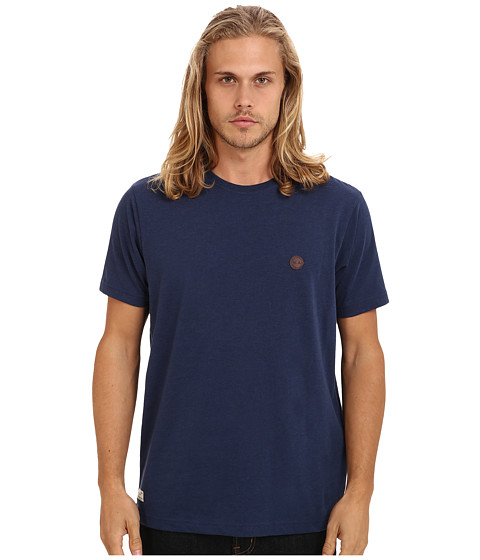 Marshall Artist - Short Sleeved Classic T-Shirt (Navy Melange) Men