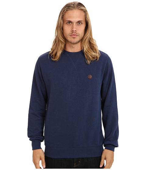 Marshall Artist - Crew Neck Sweatshirt (Navy Melange) Men's Sweatshirt