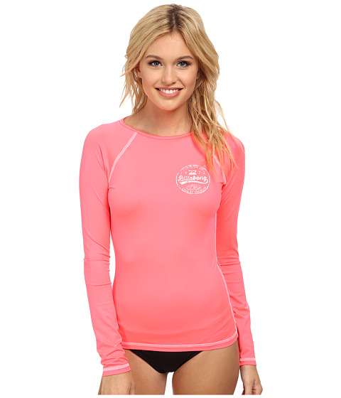 Billabong - Bare Lady L/S Rashguard (Coral Reef) Women