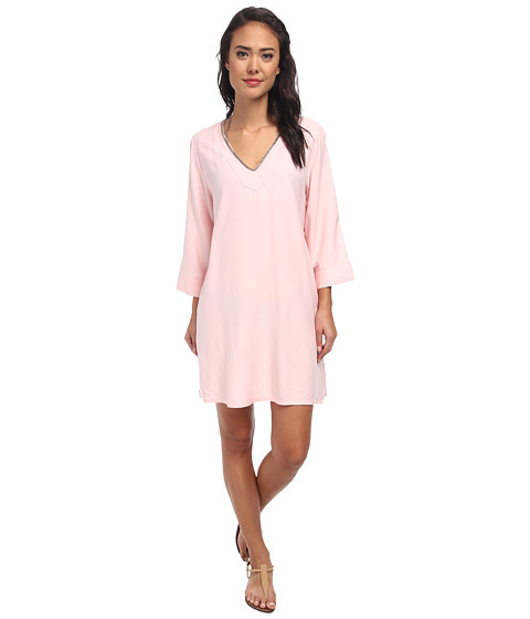 Vince Camuto - Collins Luxe Tunic Cover Up (Cameo) Women