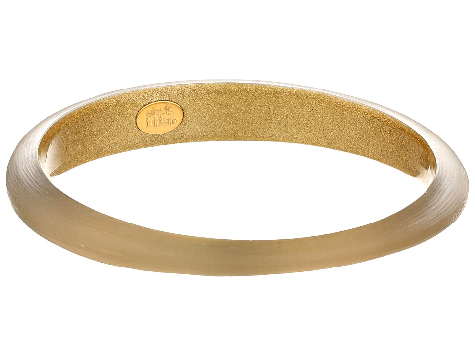 Alexis Bittar - Skinny Tapered Bangle (Warm Grey) Bracelet