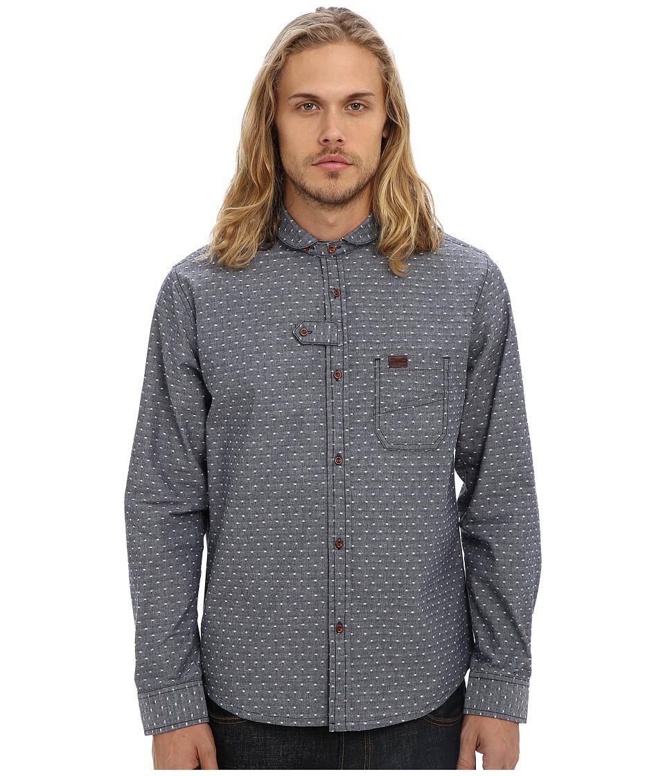 Marshall Artist - Double Pocket Shirt (Dark Indigo) Men