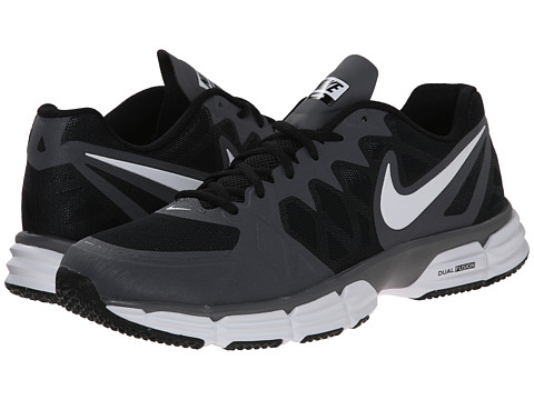 Nike - Dual Fusion TR 6 (Black/Dark Grey/White) Men