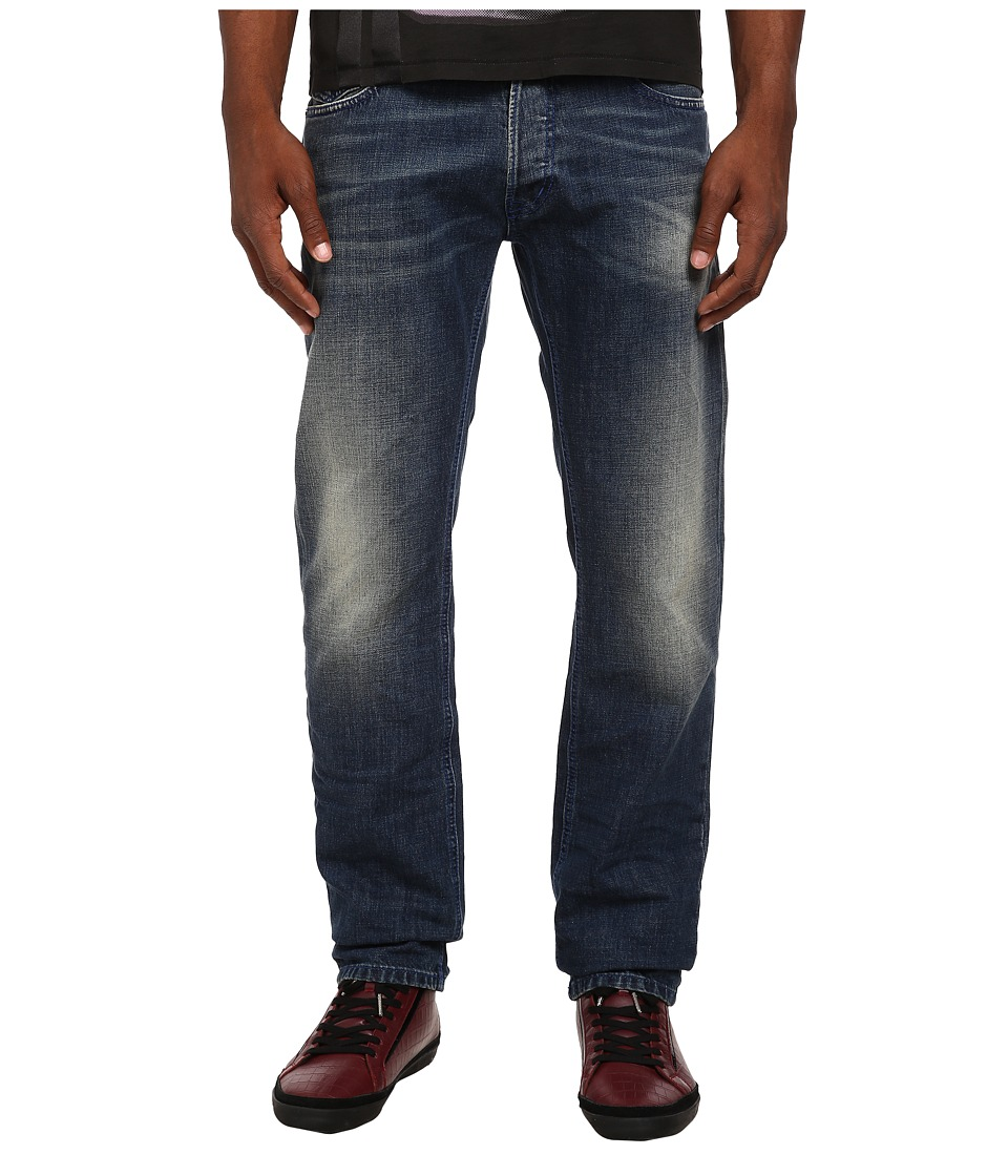 Just Cavalli - Basic Wash Regular Fit Denim (Blue Denim) Men's Jeans
