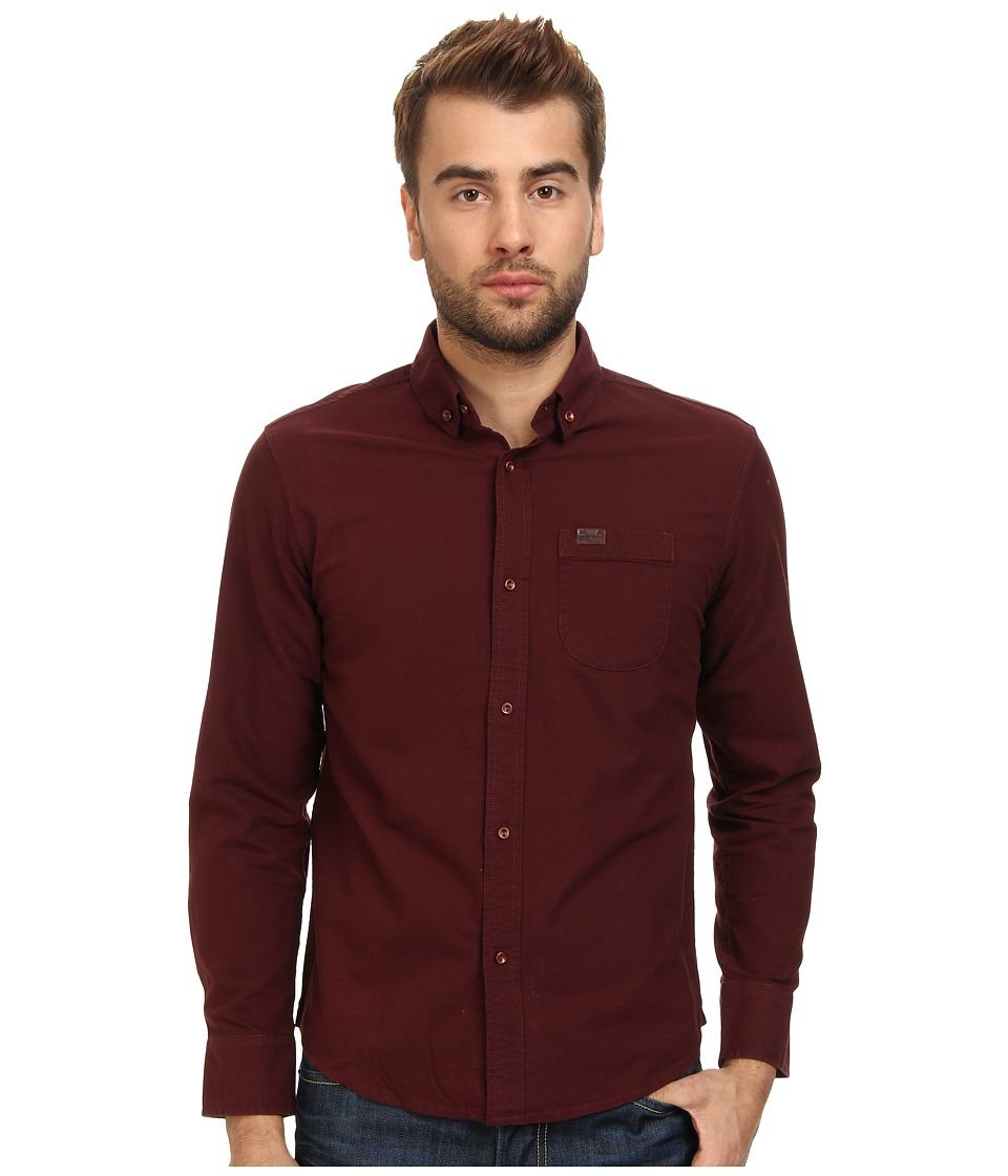 Marshall Artist - Classic Oxford Shirt (Burgundy) Men's T Shirt
