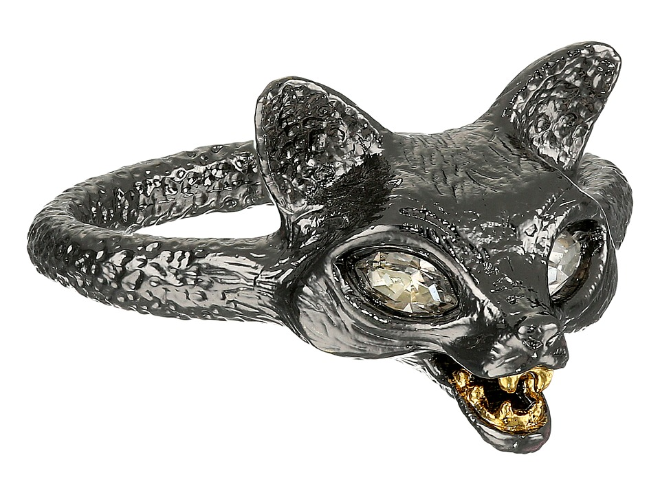 Alexis Bittar - Fox Ring (Ruthenium/Gold) Ring