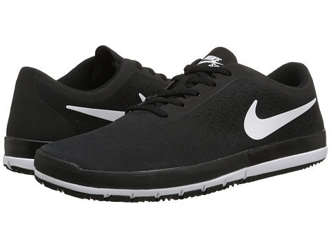 Nike SB - Free SB Nano (Black/White) Men's Skate Shoes