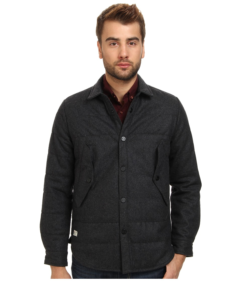 Marshall Artist - Thermal Wool Jacket (Charcoal) Men's Jacket