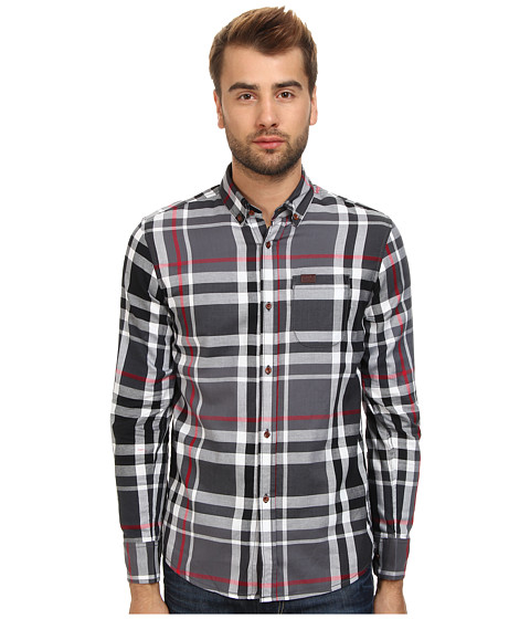 Marshall Artist - Classic Check Shirt (Black Check) Men's T Shirt