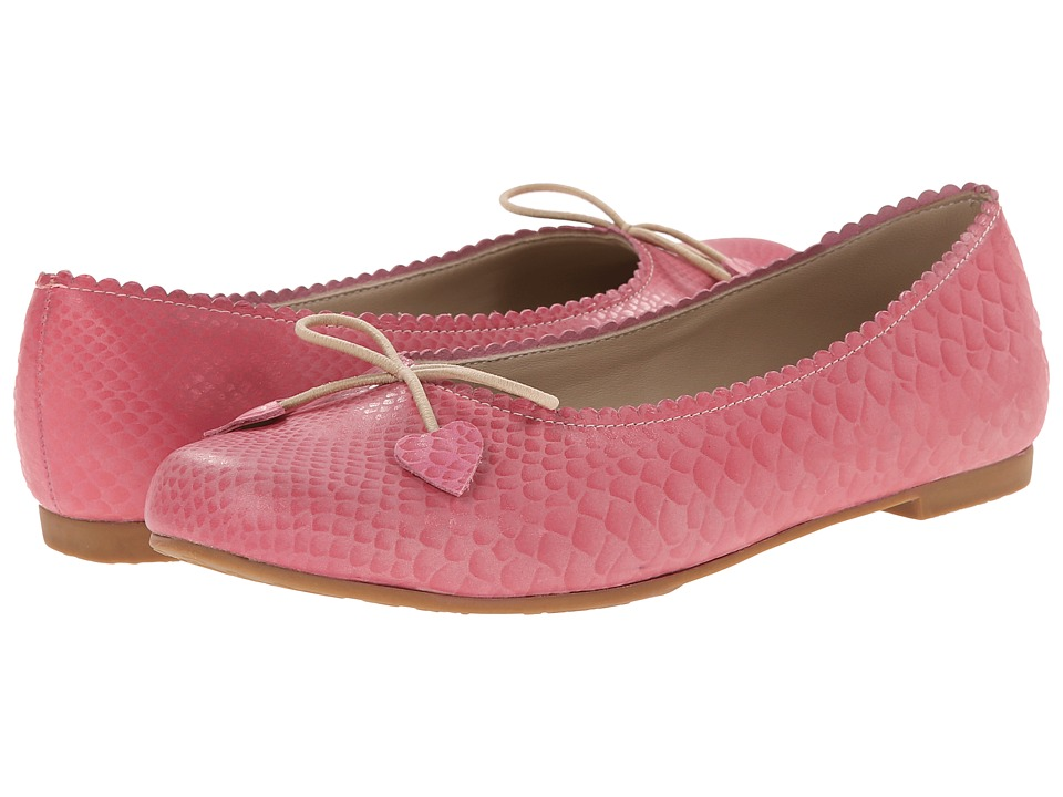 Elephantito - Scalloped Ballerina (Toddler/Little Kid/Big Kid) (Pink) Girls Shoes
