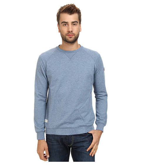 Marshall Artist - Stealth Sweatshirt (Steel Blue Melange) Men's Sweatshirt