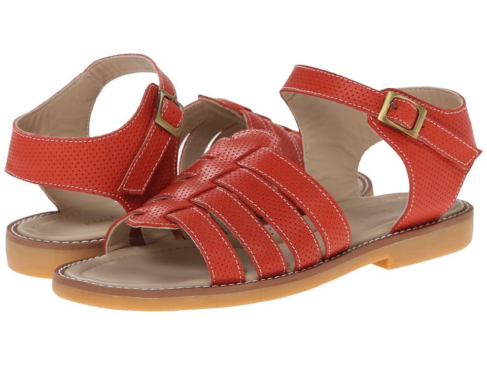 Elephantito Nantucket Sandal (Toddler/Little Kid/Big Kid) (Ferrari Red) Girls Shoes