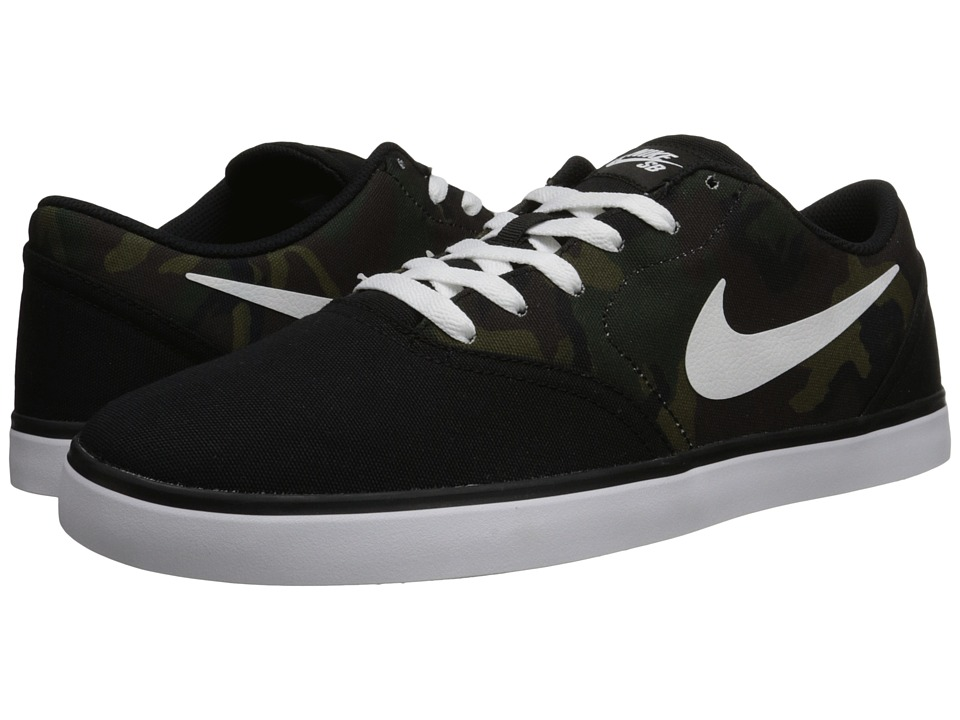 Nike SB - Check Canvas (Black/Multicolor/White) Men