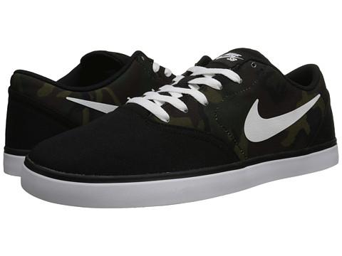 Nike SB - Check Canvas (Black/Multicolor/White) Men
