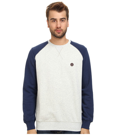 Marshall Artist - Two-Tone Sweatshirt (Grey Melange/Navy Melange) Men