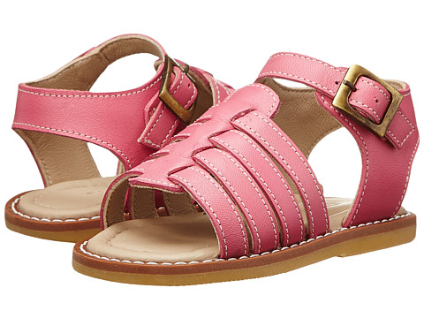 Elephantito - Nantucket Sandal (Toddler) (Flamingo) Girls Shoes