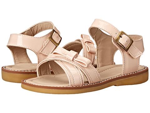 Elephantito - Lili Crossed Sandal w/Bow (Toddler/Little Kid) (Dusty Pink) Girls Shoes