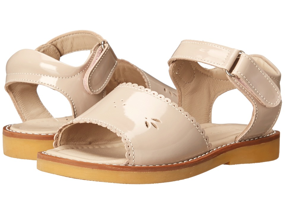 Elephantito - Classic Sandal w/ Scallop (Toddler/Little Kid) (Dusty Pink) Girls Shoes