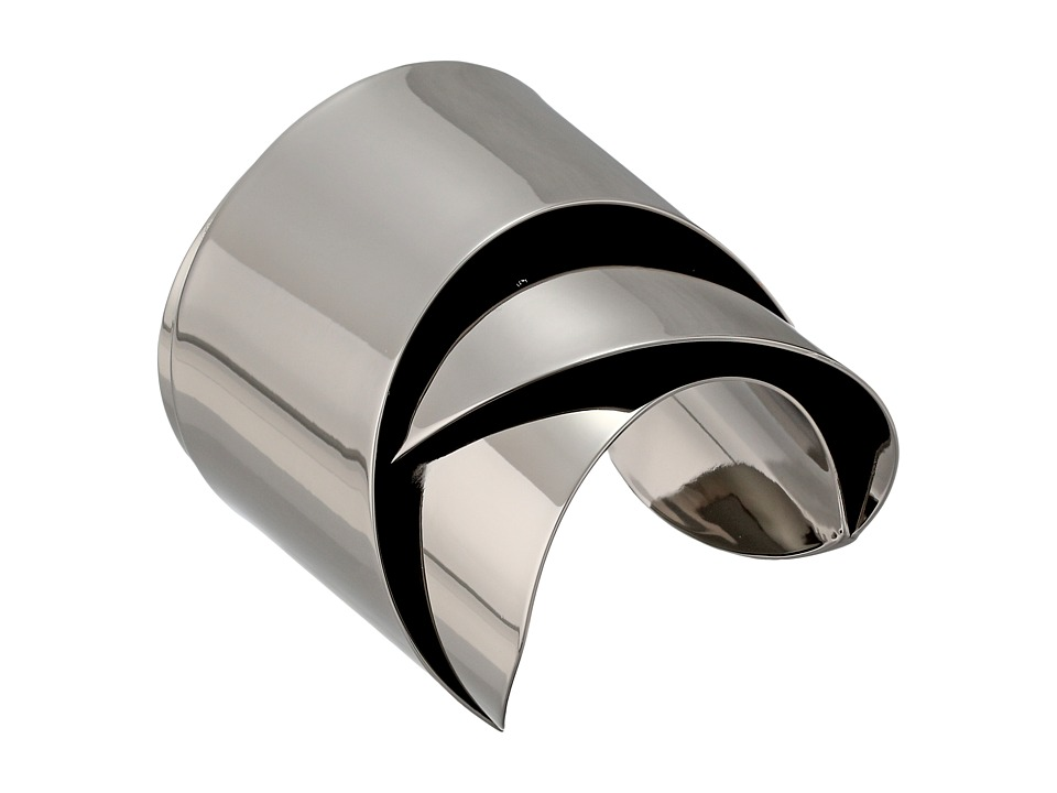 Alexis Bittar - Ribbon Cuff (Ruthenium) Bracelet