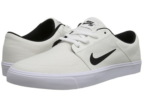 Nike SB - Portmore Canvas (Ivory/White/Black) Men
