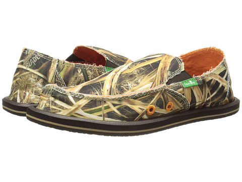 Sanuk Kids - Vagabond Blades (Little Kid/Big Kid) (Mossy Oak) Boy's Shoes