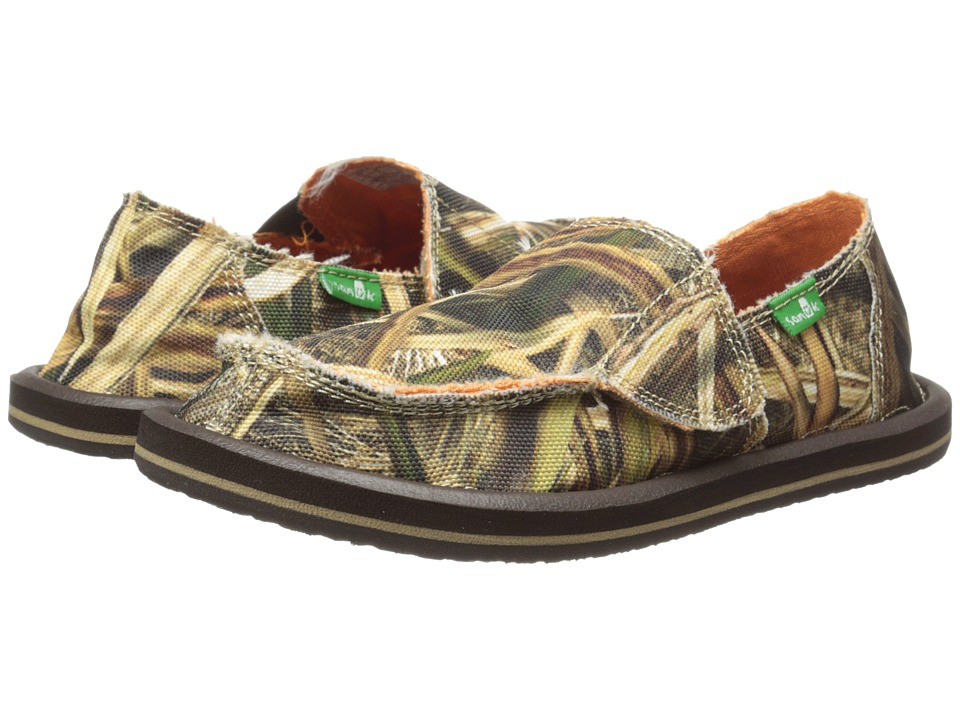 Sanuk Kids - Vagabond Blades (Toddler/Little Kid) (Mossy Oak) Boy