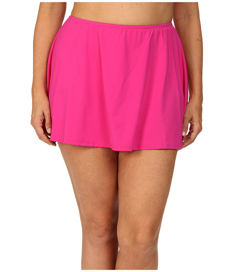 MICHAEL Michael Kors - Plus Size Skirted Bottom (Radiant Pink) Women