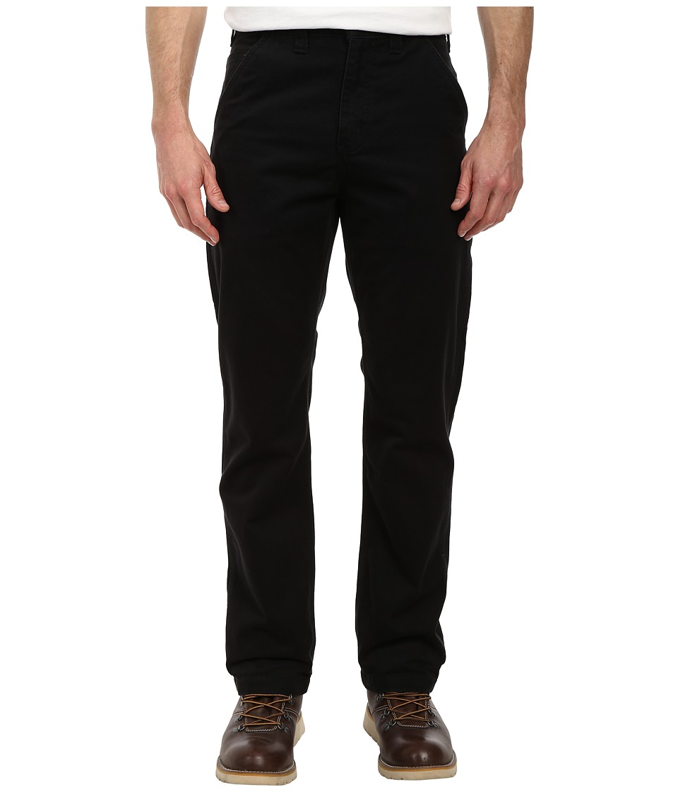 Carhartt - Washed Twill Dungaree (Black) Men's Jeans