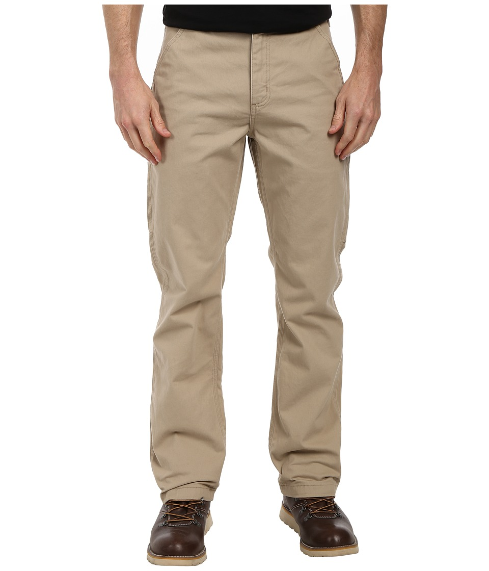 Carhartt - Washed Twill Dungaree (Field Khaki) Men's Jeans