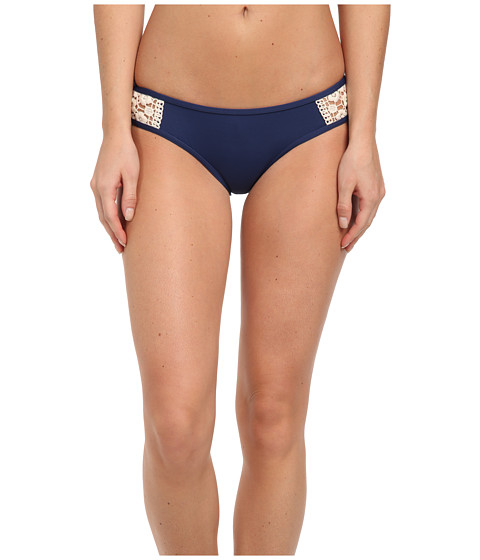 Lucky Brand - Natural Connection Hipster (Indigo) Women's Swimwear