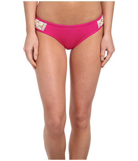 Lucky Brand - Natural Connection Hipster (Magenta) Women's Swimwear