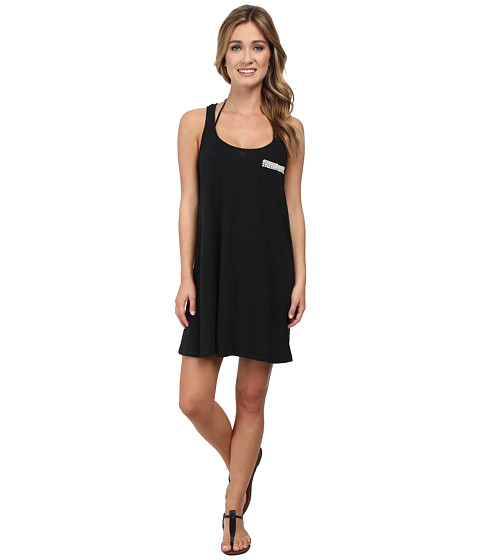 Lucky Brand - Natural Connection Dress Cover-Up (Black) Women