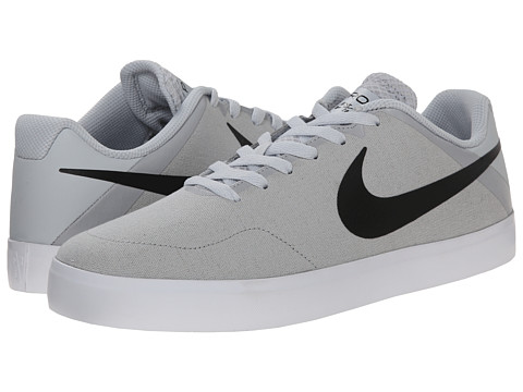 Nike SB - Paul Rodriguez CTD LR Canvas (Pure Platinum/White/Black/Black) Men's Skate Shoes