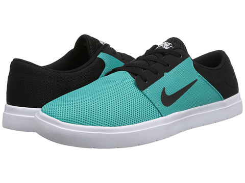 Nike SB - Portmore Renew (Light Retro/White/Black) Men's Skate Shoes