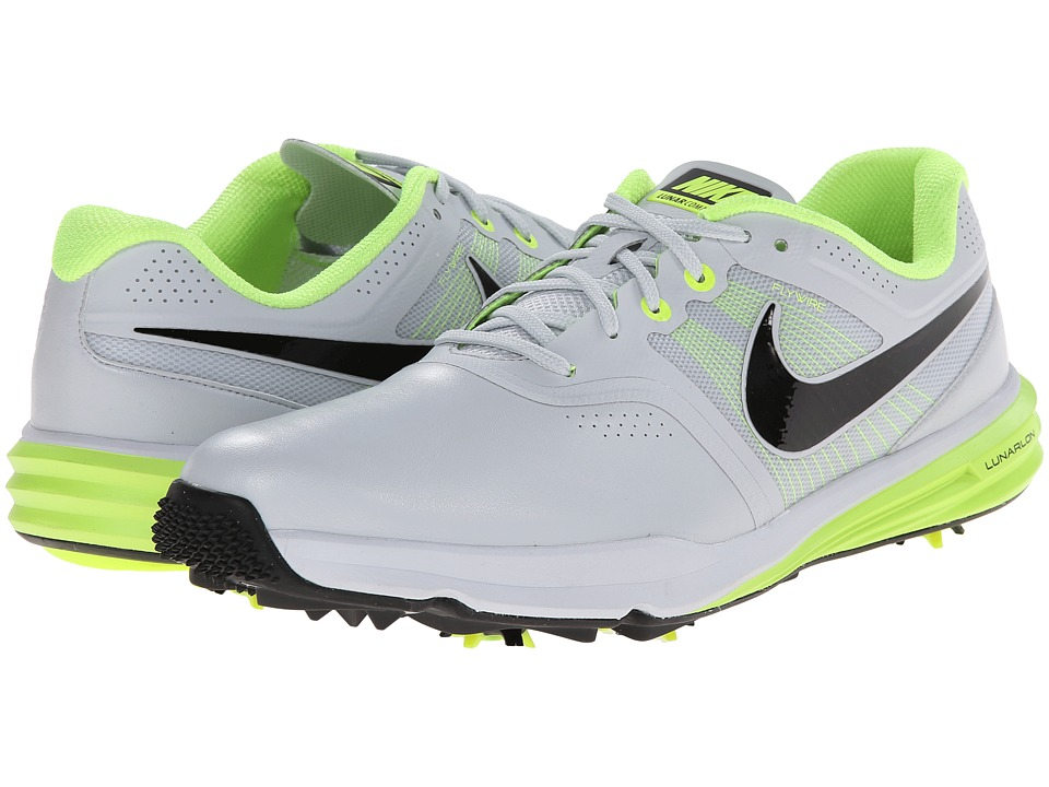 Nike Golf - Lunar Command (Pure Platinum/Volt/Black) Men's Golf Shoes