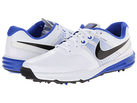 Nike Golf - Lunar Command (White/Lyon Blue/Black) Men