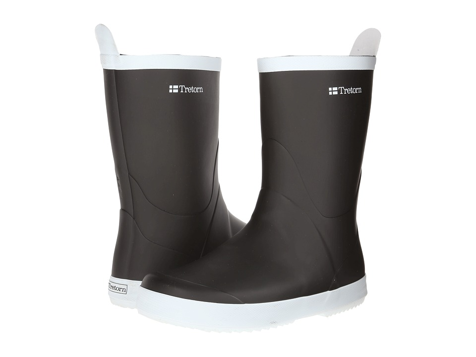 Tretorn Wings (Black) Rain Boots